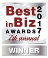Best in Biz 2017 Silver Award Winner
